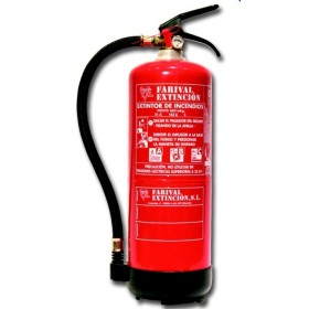 Extintor ABC 6 Kg