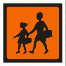 Vinil Autocolante - Transporte de Crianças para veículos ligeiros