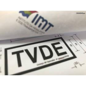 Distico TVDE (sinal TVDE para Uber, Cabify ou Taxify)
