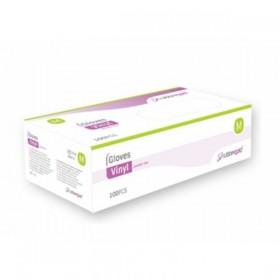 Luvas de proteção em latex - Caixa de 100